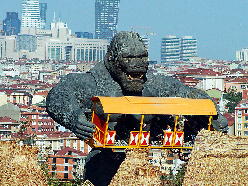 King Kong Huss Park Attractions