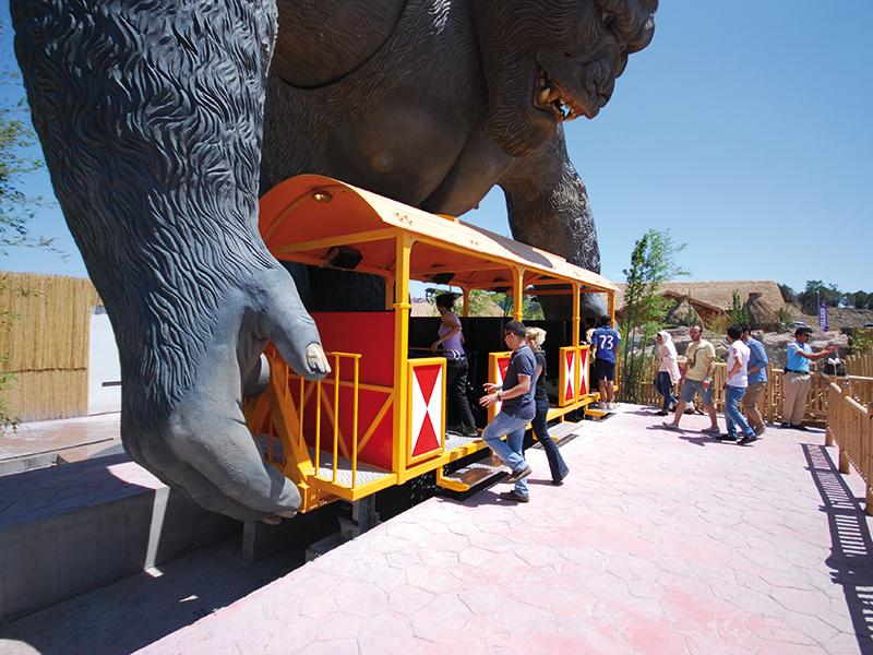 King Kong Huss Park Attractions